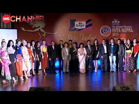 Miss Nepal 2015 Guess the Miss Talent