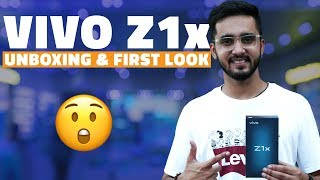 Vivo Z1x Unboxing and First Look  – Price in India, Key Specifications