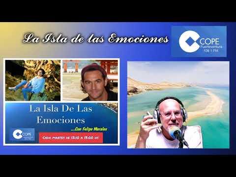Hasta Suiza con Flora Rodríguez y en Tenerife con el psicólogo Jorge Gil.