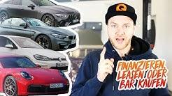 Das neue Auto BAR KAUFEN, FINANZIEREN oder LEASEN?