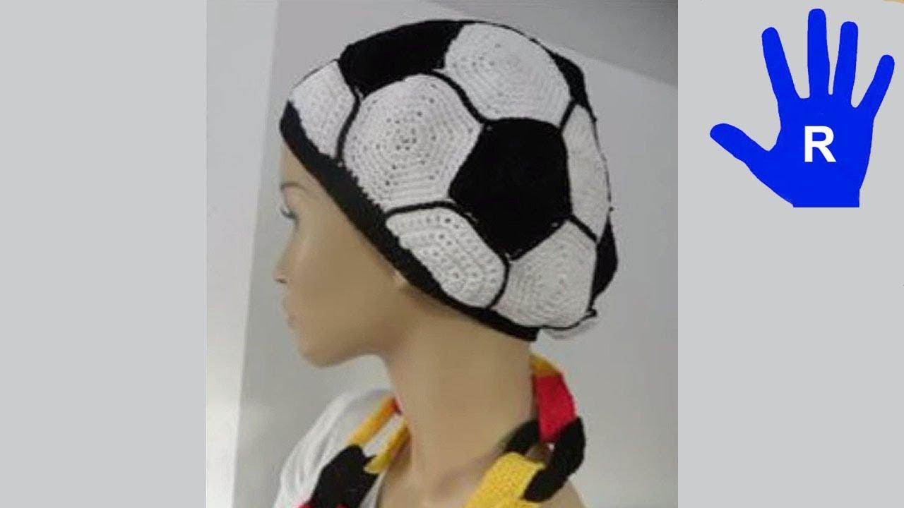 Häkeln - Mütze - Ball - WM - Deutschland - Weltmeisterschaft - YouTube