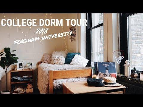 COLLEGE DORM TOUR 2018: Fordham University | Kaela Kilfoil