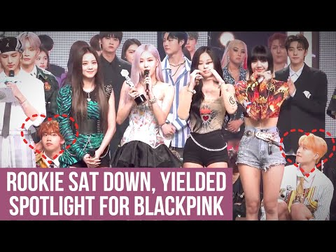 Controversy about the rookie group sat down, yielded spotlight for BlackPink