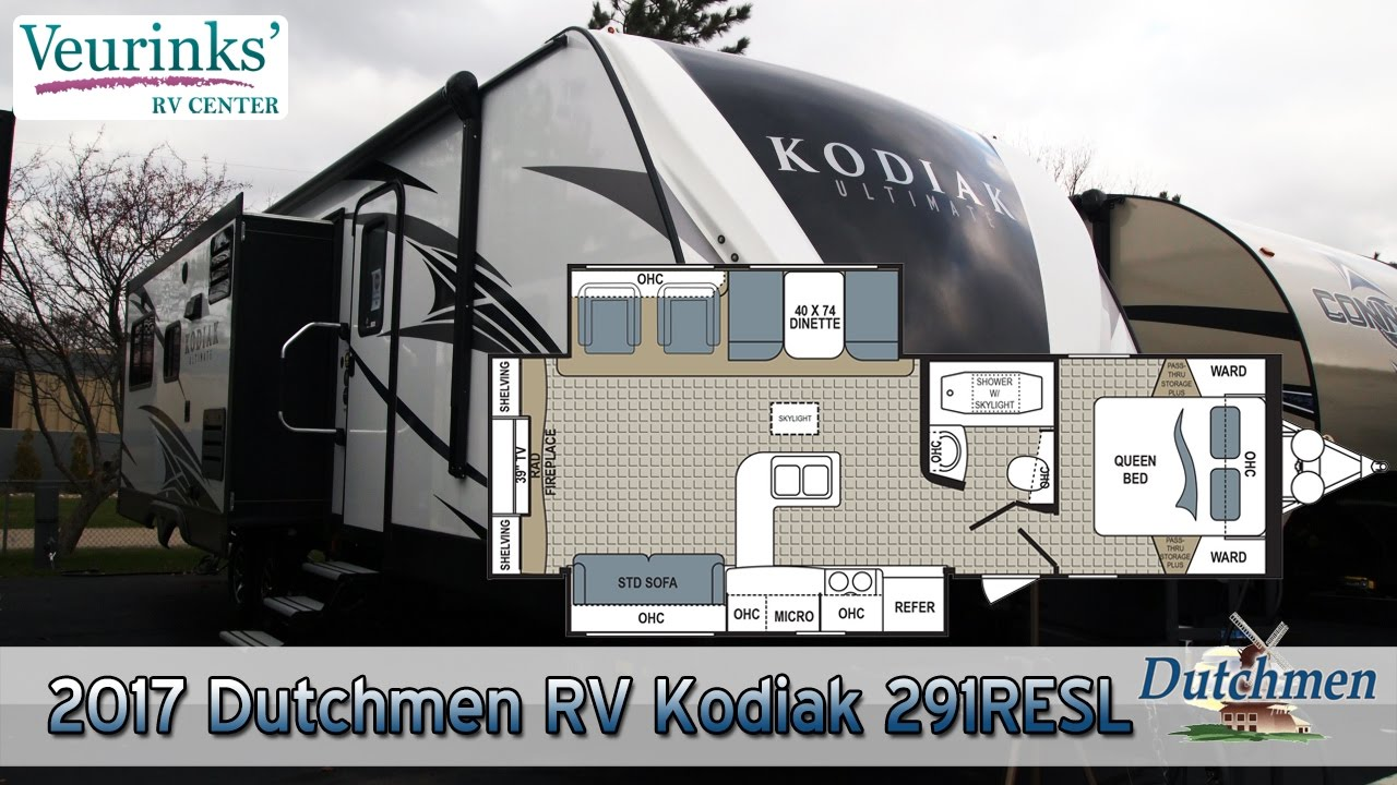 For Sale 2017 Dutchmen Rv Kodiak Ultimate 291resl Review Grand