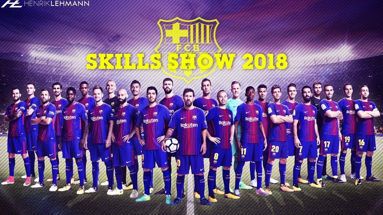 FC Barcelona Ultimate Skills Show 2018 HD - YouTube