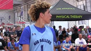 Every LaMelo Ball Play from his 40 Point Performance in front of LaVar & Tina Ball