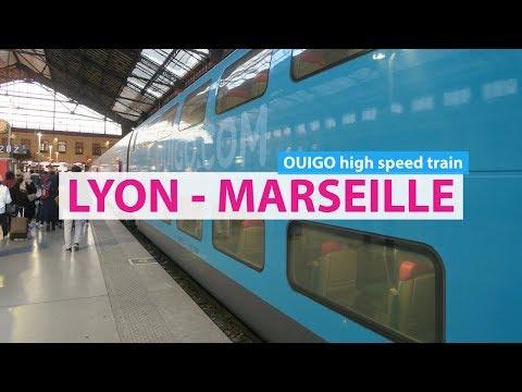 Lyon to Marseille 🚄OUIGO high-speed train