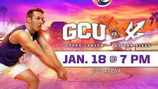 GCU Men's Volleyball vs UC San Diego January 18, 2020