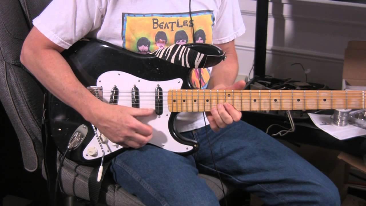 NEW Lindy Fralin Strat Blues Special Bridge PICKUP White for Fender Stratocaster