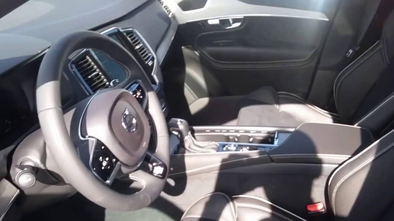 2017 Volvo XC90 R-Design Electric Silver Metallic - YouTube