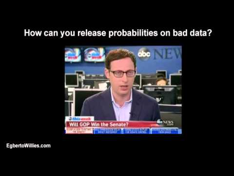 FiveThirtyEight Nate Silver says GOP takes Senate on bad data