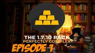 Minecraft: THE 1.7.10 Pack Let's Play Episode 1 - Getting Started