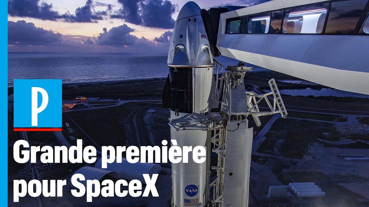 SpaceX : tout savoir sur le premier lancement habité de la fusée Falcon 9