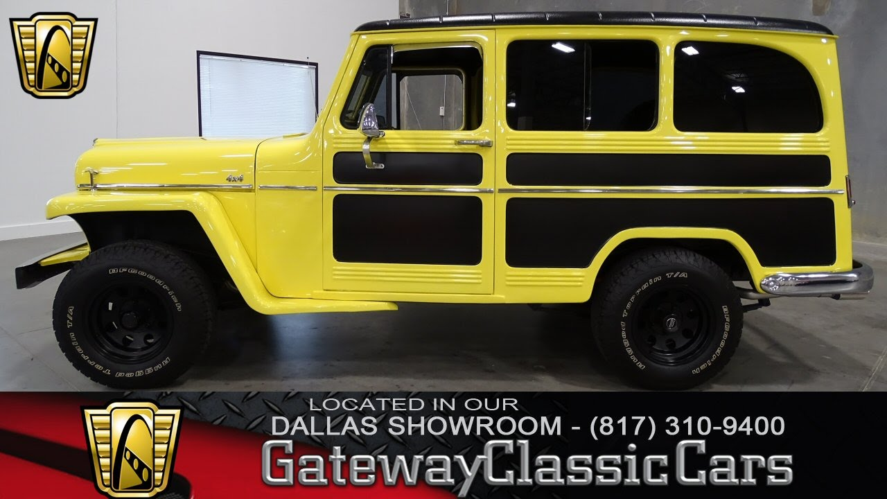 1959 Willys Jeep Wagon Stock #237 Gateway Classic Cars of Dallas ...