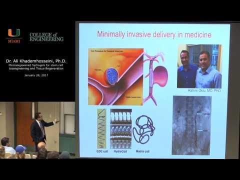Dr. Ali Khademhosseini Lecture