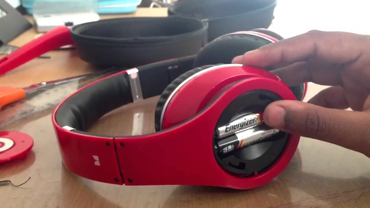 Beats By Dre Studio Red