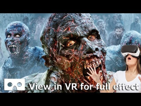 VR 360 Video Night Of The Living Dead Full Movie In A Virtual Scary Zombie Cinema 4K