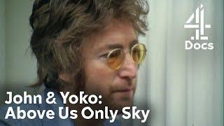 Conversation between John Lennon & Vietnam Vet Who Came to His Home | John & Yoko: Above Us Only Sky
