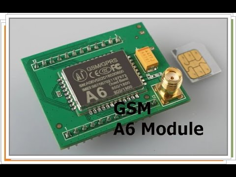 GSM Module A6 from the makers of ESP8266