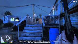 GTA 5 PS4 1st person stealth gameplay
