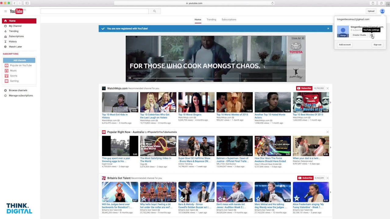 How to set up a Youtube Channel for your Business
