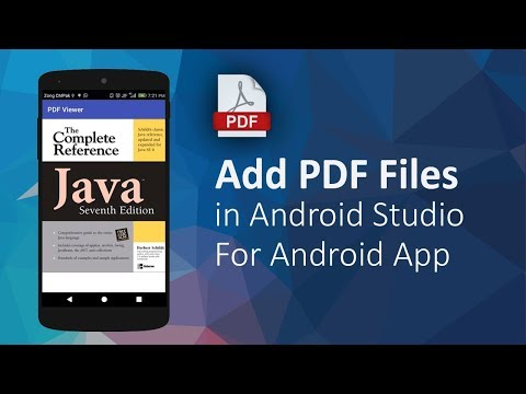 PDF Viewer - How To Add PDF Files In Android Apps | Android Studio Tutorials