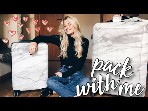 PACK WITH ME FOR ITALY!!