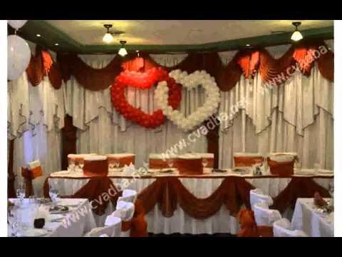 Украшение Зала На Свадьбу Фото смотреть в хорошем качестве
