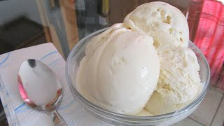 How to make Homemade Vanilla Ice Cream from scratch