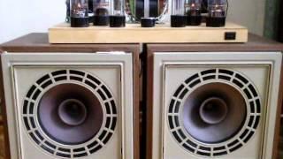видео Двухтактный ламповый усилитель на 6П3С