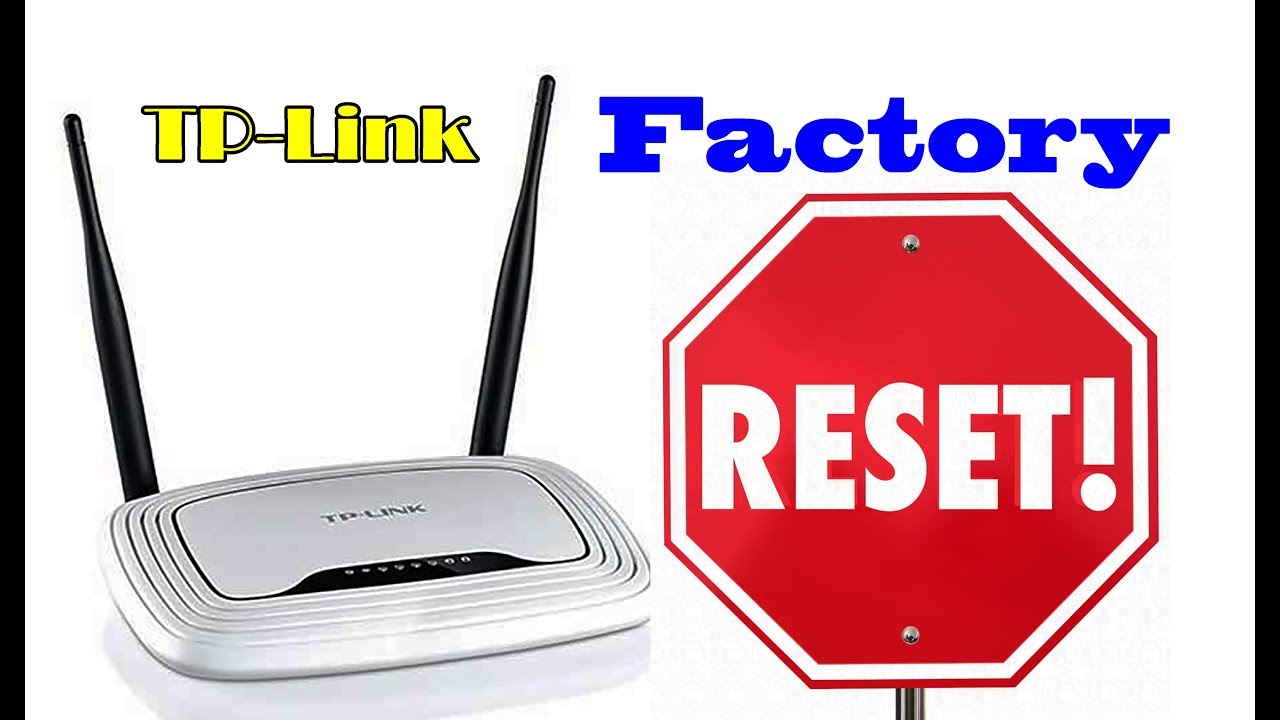 Reset tp link router step by step full process