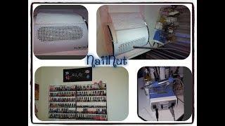 Dust Collector, Polish Racks, Nail Drill , Workstation, Flexi Lamp