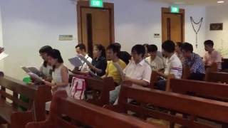 CHÚA LUÔN CÒN MÃI (Ca đoàn tập hát với Cha Xuân Đường)