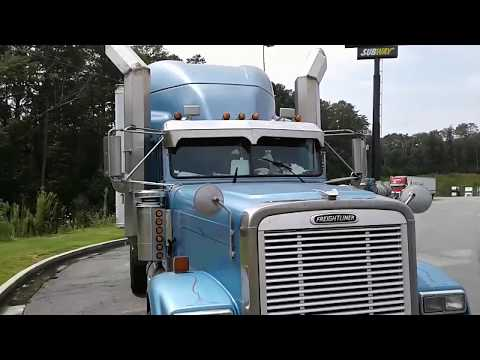 The Worlds Largest Stacks On An 18 Wheeler Tractor -Freightliner Classic
