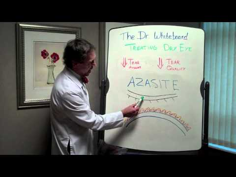 Dr Whiteboard  Treating Poor Tear Quality with Azasite
