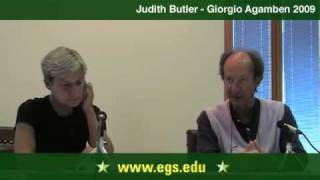 Judith Butler and Giorgio Agamben. Eichmann, Law and Justice. 2009 2/7
