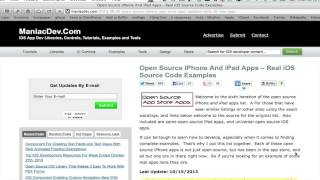 Open-Source iPhone Apps : iPhone Troubleshooting
