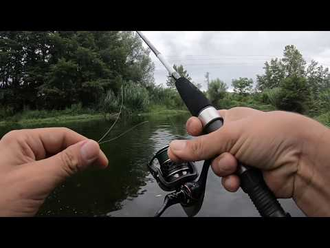Buscando Truchas Con Equipo De Rock Fishing