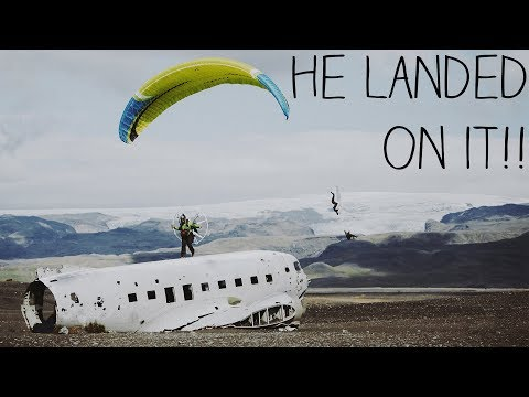 Searching For A Crashed Airplane - Iceland Pt. 4