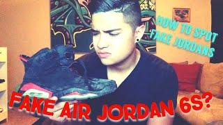 I Bought Fake Jordans!!? Infrared 6s! Black cat 4s!? Raptor 7s!? Thumbnail