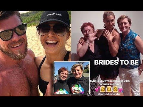 Frances Abbott shares photo of ring before aunty's wedding