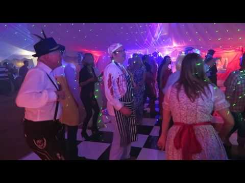 Tony Poole Discos...Corporate Fancy Dress Party in a marquee at  Barrow Hills Prep School Surrey
