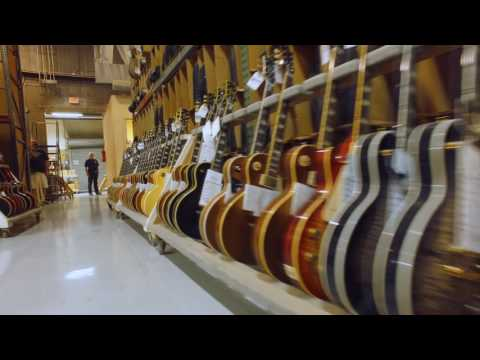 Behind The Magic: A Look Inside The Gibson Custom Shop