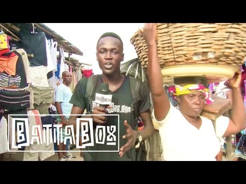 Tour Of Largest Market In Benin