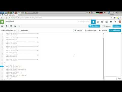 Vídeotutorial Arduino - Serial.print Y Serial.println