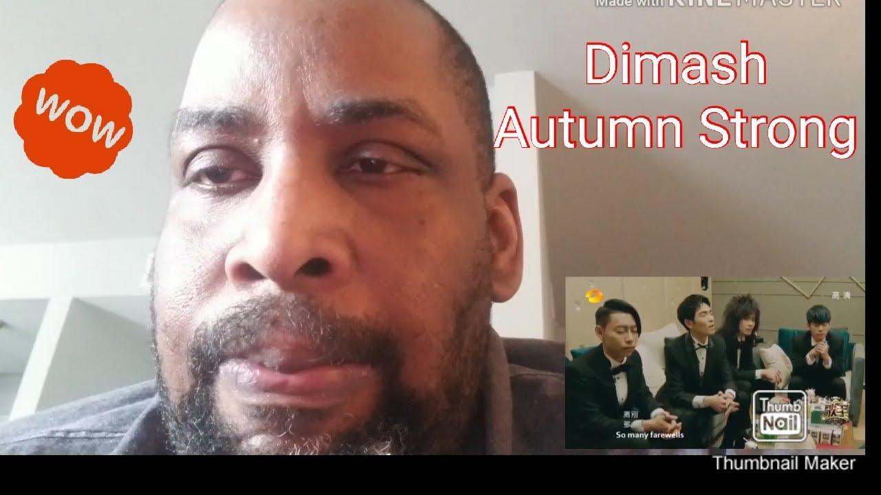 Dimash Autumn Strong  Reaction