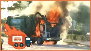 A True Garbage Truck On Fire - Kinda Funny Morning Show 09.19.17