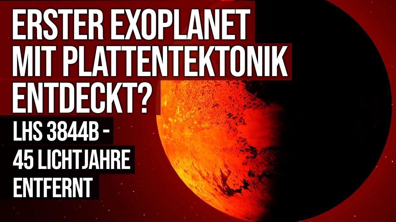 Erster Exoplanet mit Plattentektonik entdeckt? - LHS 3844b - 45 Lichtjahre entfernt