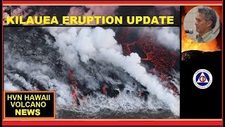 HAWAII ERUPTION Latest HCCD Report on Kilauea Volcano (8/14/2018)