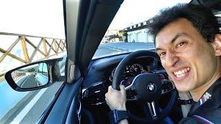 НЕАДЕКВАТ! Вот почему BMW M5 Competition это лучший спорт-седан на сегодня! Обзор и тест-драйв.